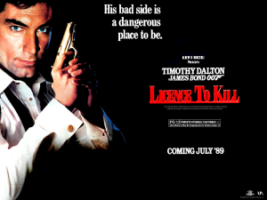Comborecension. Bondtema: Licence to kill ( 1989 Storbr/USA )