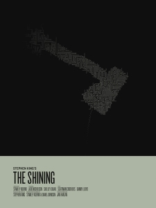 Filmspanarna - Tema snö. ALIM: The Shining (1980 USA/Storbr)