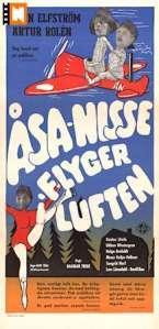 Åsa nisse flyger i luften (1956 Sverige)