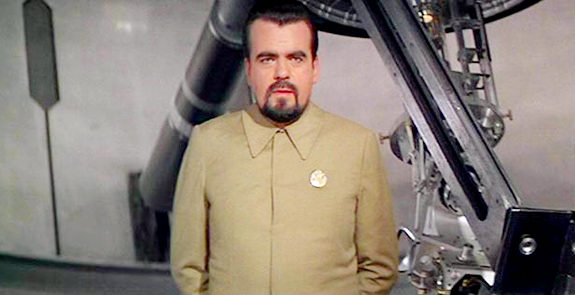 Michael Lonsdale plays Sir Hugo Drax in