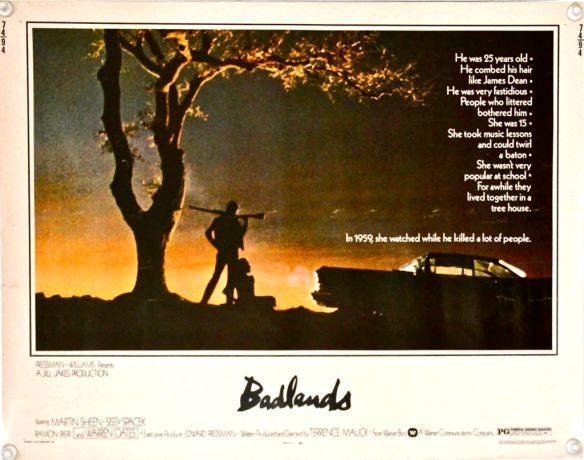 Badlands Original Half-Sheet