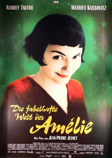 DIE FABELHAFTE WELT DER AMELIE - German Poster by Laurent Leufroy