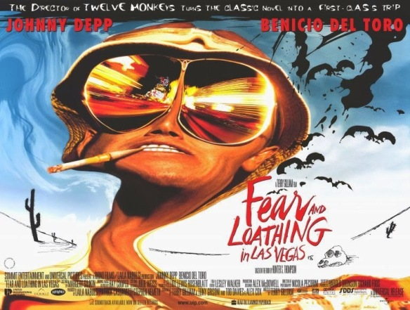 FEAR AND LOATHING IN LAS VEGAS - UK Poster