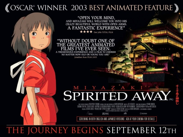 SPIRITED AWAY - UK Poster by AllCity
