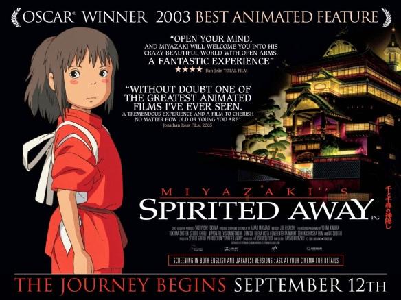 SPIRITED AWAY - UK Poster by AllCity