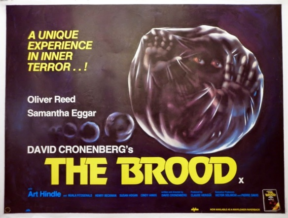 THE BROOD - UK Poster by Tom Chantrell