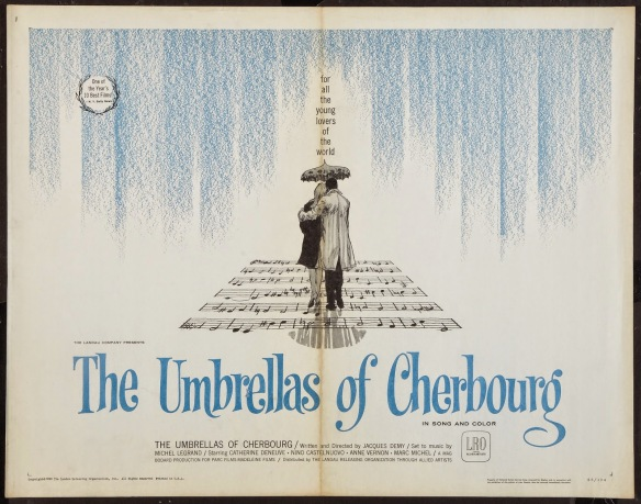 THE UMBRELLAS OF CHERBOURG - American Poster 3
