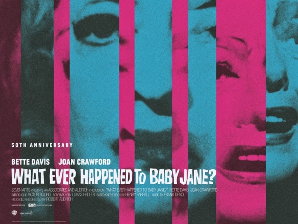 WHAT EVER HAPPENED TO BABY JANE- - UK Re-Release Poster