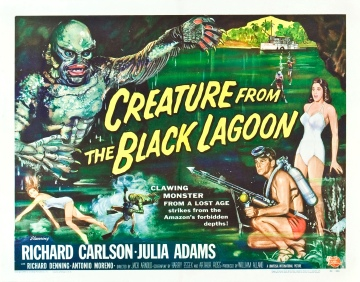Poster - Creature From the Black Lagoon_03